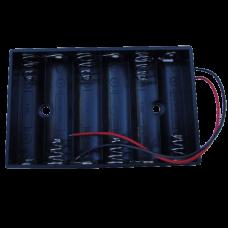 6AA Battery Holder