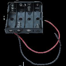 4AA Battery Holder