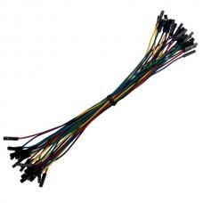 Female to Female Jumper Wire (25 pack)