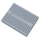 Mini 170 Point White Breadboard