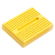 Mini 170 Point Yellow Breadboard