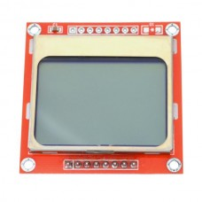 Graphic LCD 84x48 (Nokia 5110) Black on White
