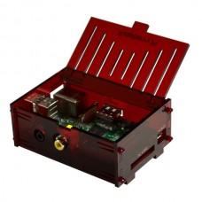 Raspberry Pi Box (Transparent Red)