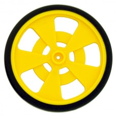 Solarbotics Gear Motor Wheel (Yellow)
