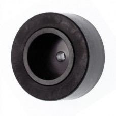 Small Rubber Wheel with 2mm Shaft