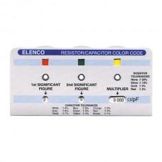 Color Code Calculator for Resistors, Capacitors and Inductors