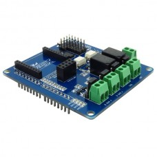 Interface Shield for Arduino with Relays and MOS Power Switches