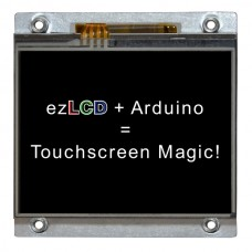 arLCD Smart Touchscreen LCD with Arduino Compatible Microcontroller