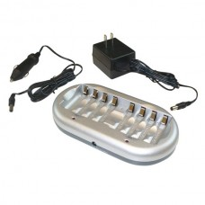 NiMH / NiCd Battery Charger for 8 AA or AAA Batteries