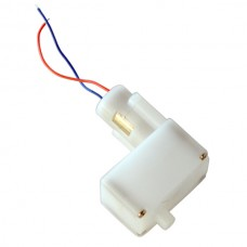 Solarbotics GM23 Tiny Gear Motor 3V (192:1) with offset shaft