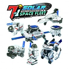 7 in 1 Solar Rechargeable Space Fleet