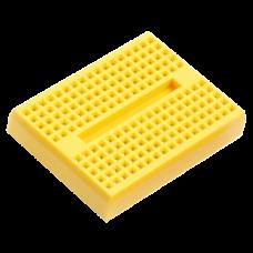 Mini 170 Point Yellow Breadboard