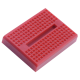 Mini 170 Point Red Breadboard