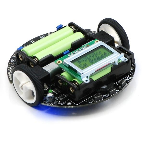 Self learning maze solving robot using 8bit microcontroller?