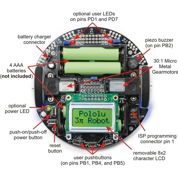 Pololu - Zumo Robot Kit for Arduino Arduino Pinterest