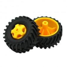 Tamiya 70101 Truck Tire Set (4 wheels)