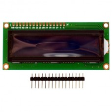 Character LCD 16x2 (1602 LCM) White on Blue 5V