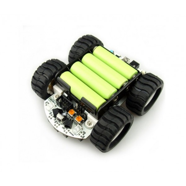 MiniQ 2WD Robot Chassis Quick Assembly Guide - YouTube