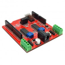 Dual Stepper Motor Driver Shield for Arduino