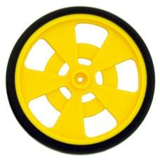 Solarbotics Gear Motor Wheel (Yellow)