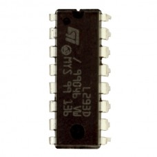 L293D Quad Half H-Bridge Motor Driver IC