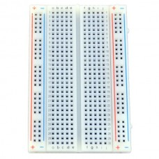 Small 400 Point White Breadboard
