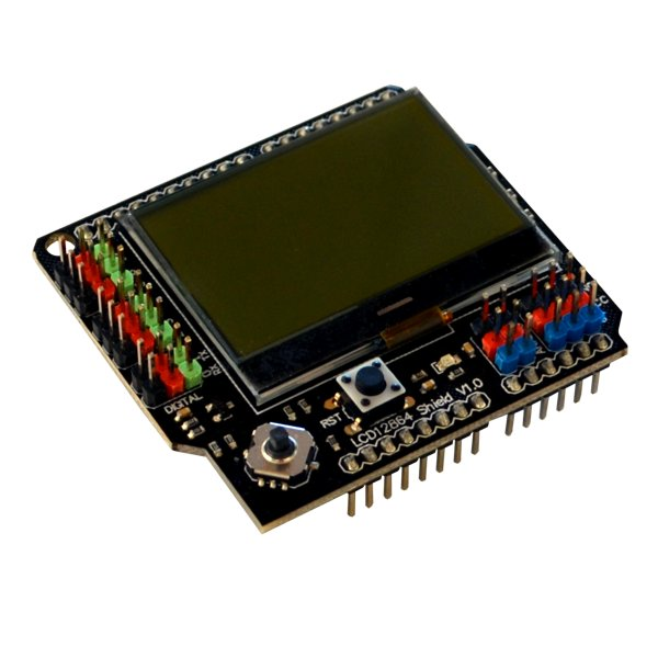 LCD12864 Graphic LCD 128x64 Shield for Arduino