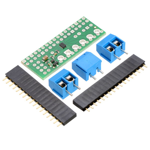 Drv8835 dual motor driver for raspberry pi for Raspberry pi stepper motor controller