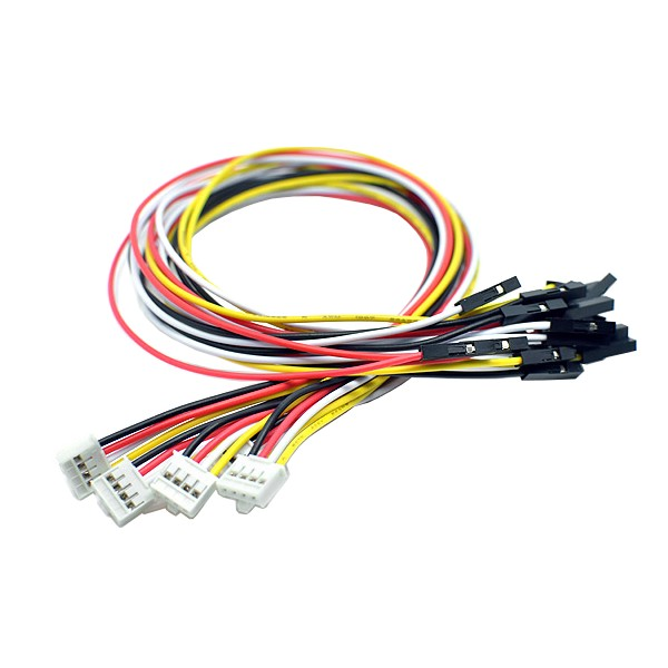 Grove 4 Pin Connector to Female Jumper Wire Cable 20cm (5 pack)