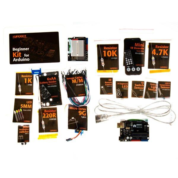 Dfrobot beginner kit for arduino