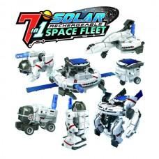 7 in 1 Solar Rechargeable Space Fleet
