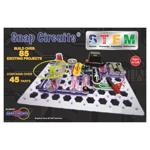 Snap Circuits Stem Set With Magnetism And Electricity